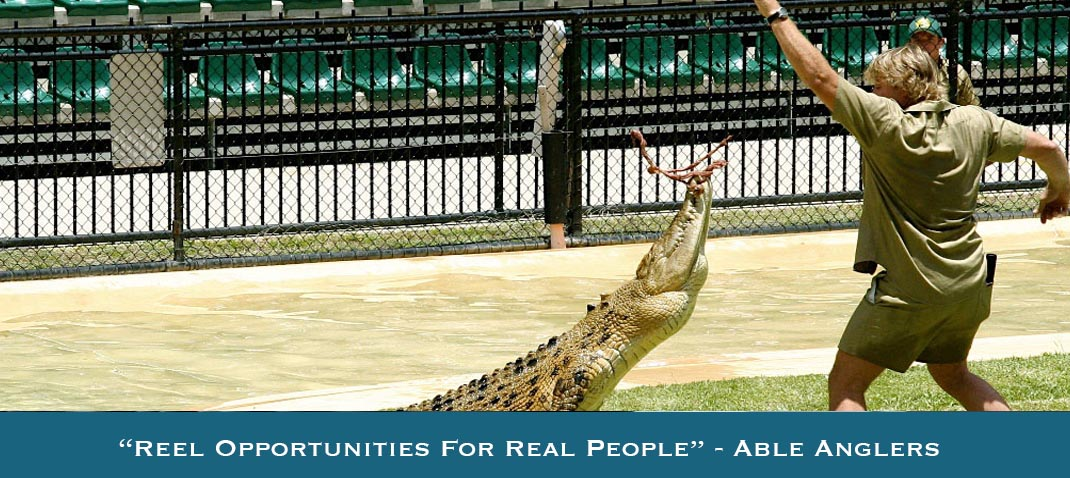 Australia Zoo Disability Mental Illness Social Outing Support Able Anglers